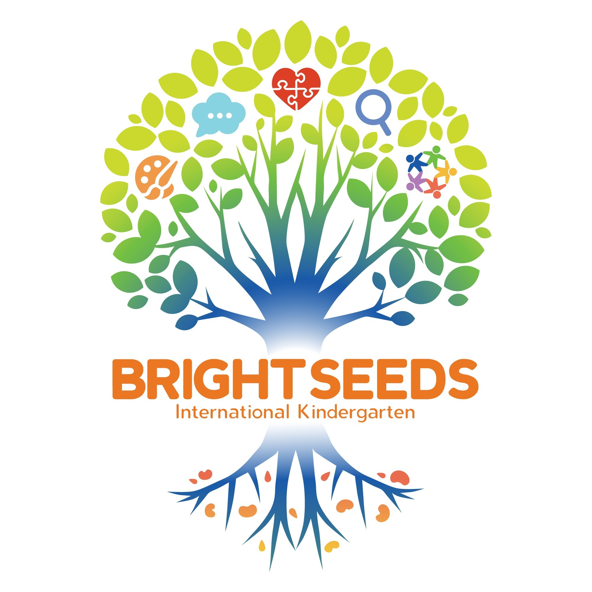 Bright Seeds International Kindergarten的主页标志